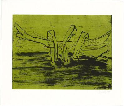 Georg Baselitz, 'Winterschlaf X', 2014