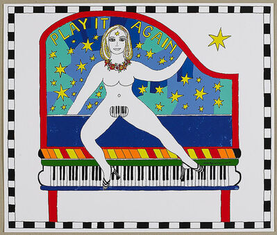 Dorothy Iannone, 'Play It Again', 2007