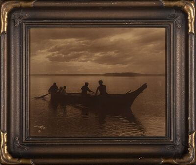 Edward Sheriff Curtis, 'Homeward', 1898