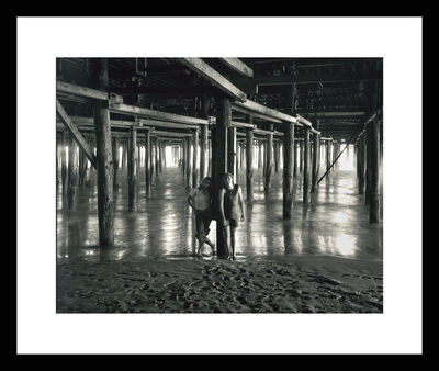 Roger Vail, 'Couple at Santa Monica Pier (1972)', 2015