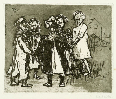 Emil Nolde, 'Ringelrosenkranz', 1908