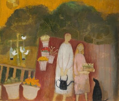 Helen Tabor, 'On the deck', 2017
