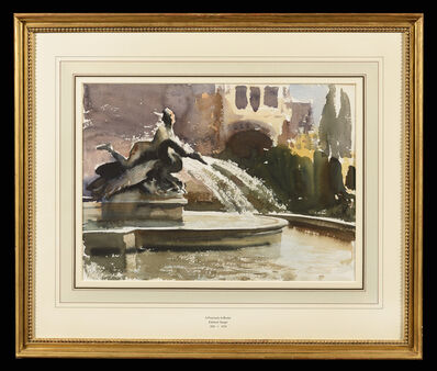 Edward Seago, 'A Fountain in Rome', ca. 1900