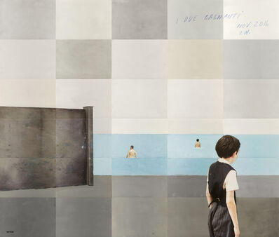 Paolo Ventura, 'I due bagnanti', 2016