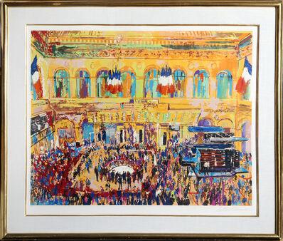 LeRoy Neiman, 'Paris Bourse', 1981