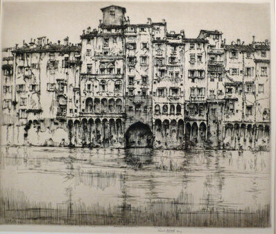 Ernest David Roth, 'FLORENCE PALACES OR FLORENTINE PALACES', 1927