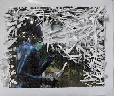 Olaniyi R. Akindiya (AKIRASH), 'Jakan- Weaved #9', 2019