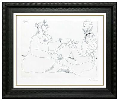 Pablo Picasso, 'Fille au Bracelet, aves Degas les mains dans le Dos', 1971