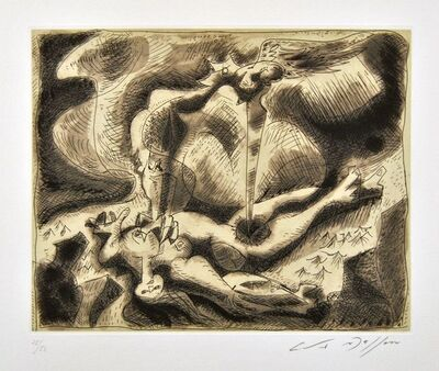 André Masson, 'Andromède', 1965
