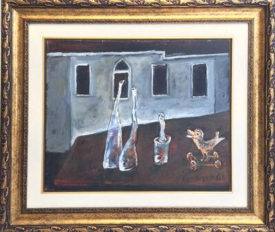 Yosl Bergner, 'Bird and Friends', ca. 2000