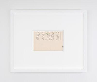 Christina Ramberg, 'Untitled (underwear torsos in profile)', 1971