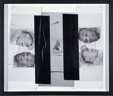 Steven Parrino, 'Exit / Dark Matter', 2002