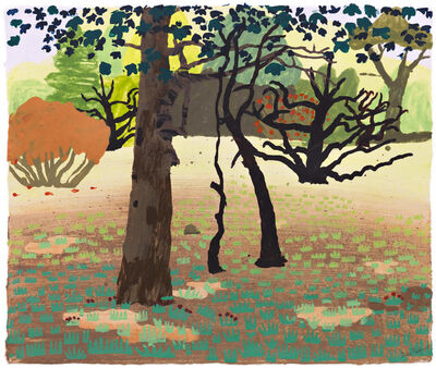 Daniel Heidkamp, 'Dark Woods', 2015