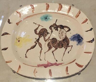 Pablo Picasso, 'Plat long (Combat entre Centaure et Minotaure)', 1957