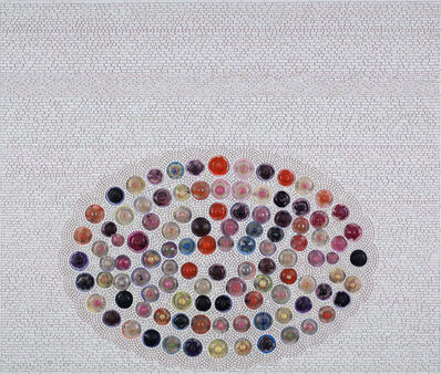 Jack Whitten, 'Saint Louise AKA The Tittie Painting for Louise Bourgeois', 2010