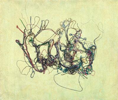 Prunella Clough, 'Waterweed 6', 1988