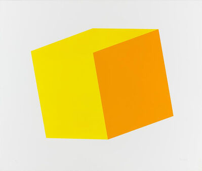 Ellsworth Kelly, 'Yellow/Orange', 1970