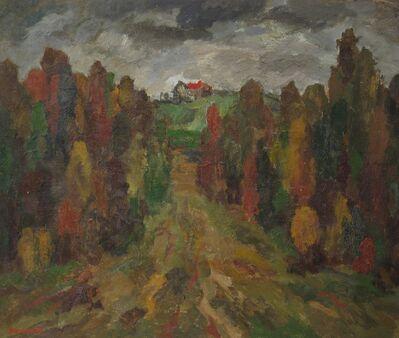 Vadim Semenovich Velichko, 'Spring forest', 1990