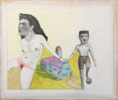 Pat Andrea, 'L'enfance de Cristiano', 2017-2018