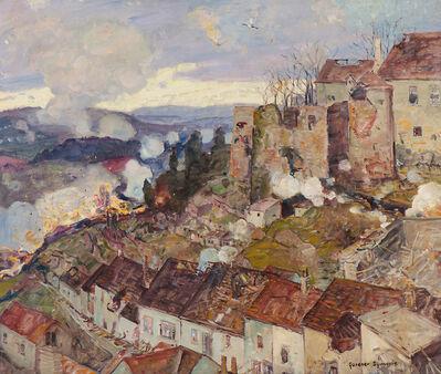 George Gardner Symons, 'Rhine Village Under Siege', 19th/20th Century