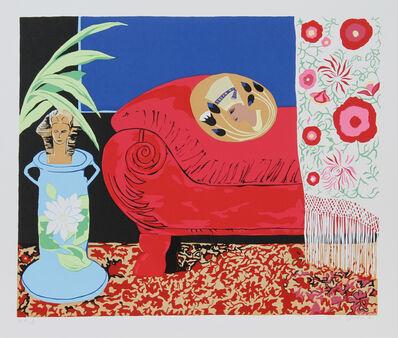 Hunt Slonem, 'Curtains', 1981