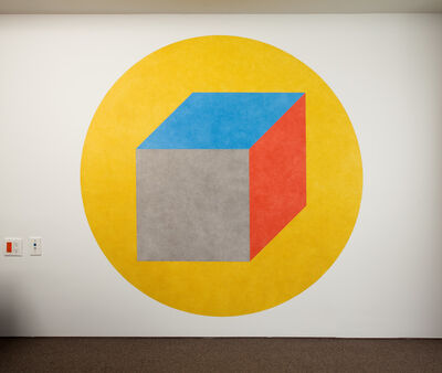 Sol LeWitt, 'Wall Drawing #596', 1989