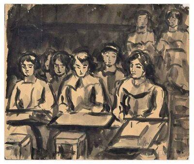 Unknown, 'Schoolgirls', ca. 1940