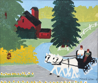 Maud Lewis, 'Carriage Ride'