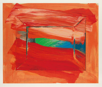 Howard Hodgkin, 'Sky's the Limit', 2003