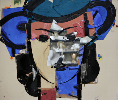 Manolo Valdés, 'Retrato con Sombrero Azul', 2018