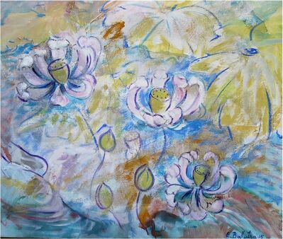Evelyne Ballestra, 'Lotus', 2016