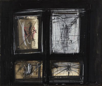"Emilio Scanavino, '""Window""', 1963"