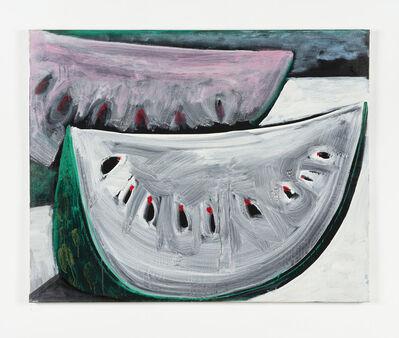 Karl Horst Hödicke, 'Melonenscheiben', 1980