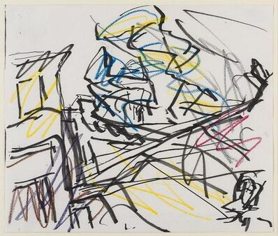 Frank Auerbach, 'Study for from the Studios', 1986