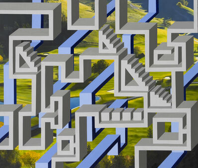 Kyoung Tack Hong, 'Green Green Grass 4', 2014