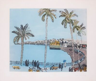 Raoul Dufy, 'La Baie des Anges, Nice. The Bay of Angels, Nice', ca. 1938