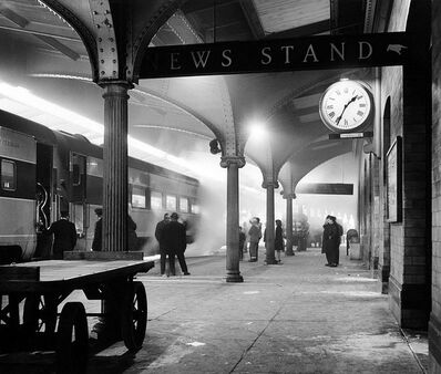 David Plowden, 'Delaware, Lackawanna and Western Railroad Station, Scranton, Pennsylvania', 1964