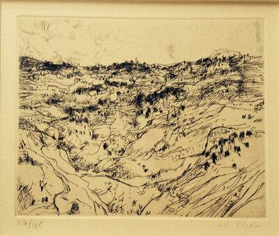 Anna Ticho, 'Hills of Jerusalem', 1950