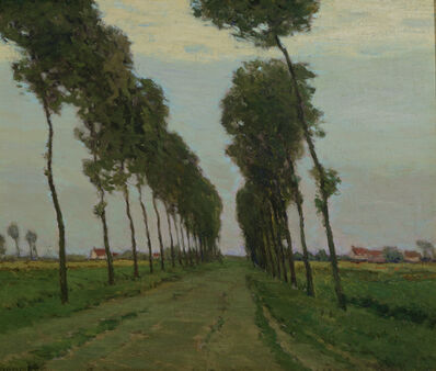 Charles Warren Eaton, 'The Road to Sluis, Holland', ca. 1910