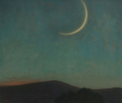 John Beerman, 'Mountain, New Moon', 2014