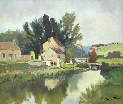 Georges Charles Robin, 'Moulin de Charbonneau, Sèvre Nantaise, France', ca. 1950