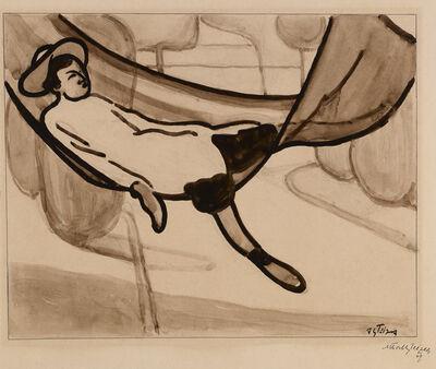 Albert Gleizes, 'Homme dans un Hamac [Man in a Hammock]', 1901