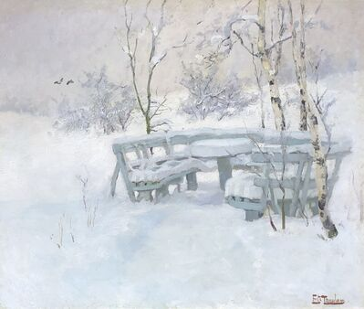 Frits Thaulow, 'Winter Mantle', c. 1880–1900