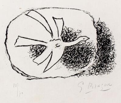Georges Braque, 'Black Bird', 1958
