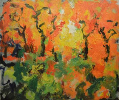 Aron Froimovich Bukh, 'Autumnal fantasy', 1999