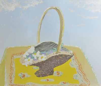 Winifred Nicholson, 'Narcissi in Basket', 1979