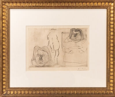 Pablo Picasso, 'Framed Etching On Paper ', 1971