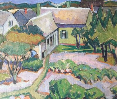 Edith Lake Wilkinson, 'House With Garden, Provincetown', ca. 1916