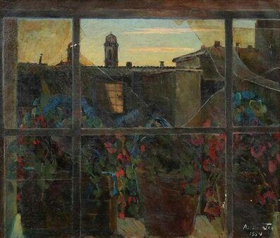 Nicotra da Cosenza, 'View of Via Margutta', 1954
