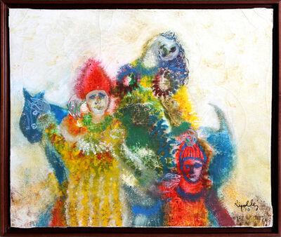Juan Ripollés, 'Three Arlequins', 1970